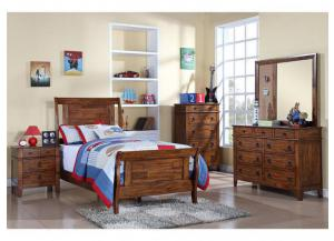 TUSCON YOUTH TWIN BED,Elements International