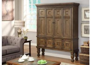 Aria Library Traditional 2 Piece Entertainment Armoire by Parker House,Parker House